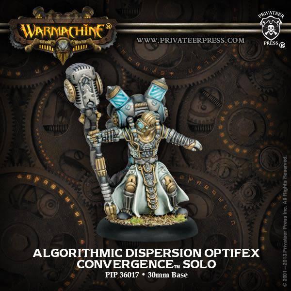 Algorithmic Dispersion Optifex - Convergence Solo (White Metal)
