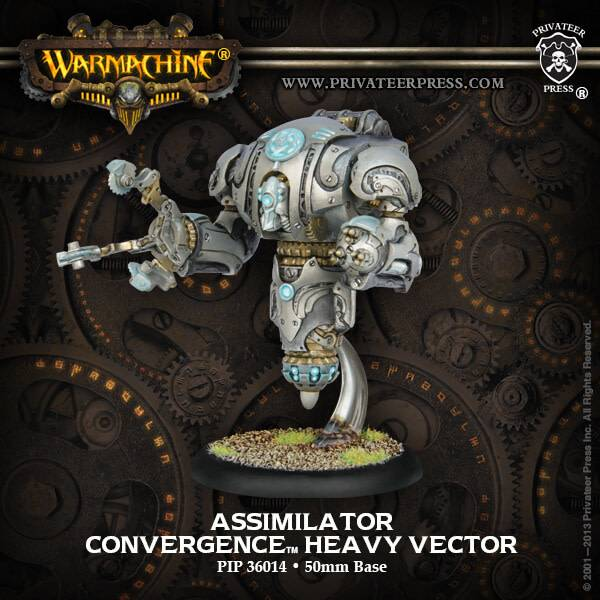 Assimilator Convergence Heavy Vector