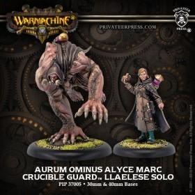 Crucible Guard - Aurum Ominus Alyce Marc & Big Alye Warcaster