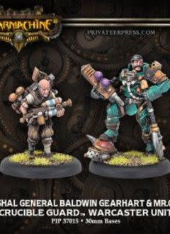 Crucible Guard - Marshal General Baldwin & Mt. Clogg Warcaster