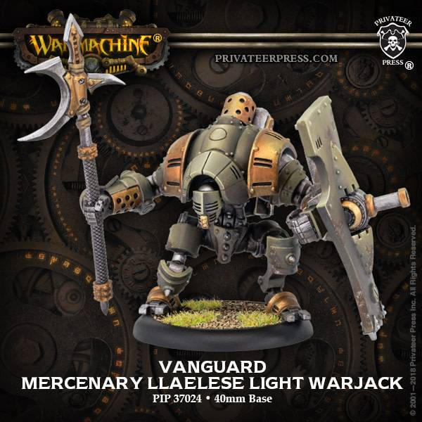 Crucible Guard - Vanguard Mercenary Light Warjack