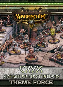 Cryx Slaughter Fleet Raiders Theme Force Box