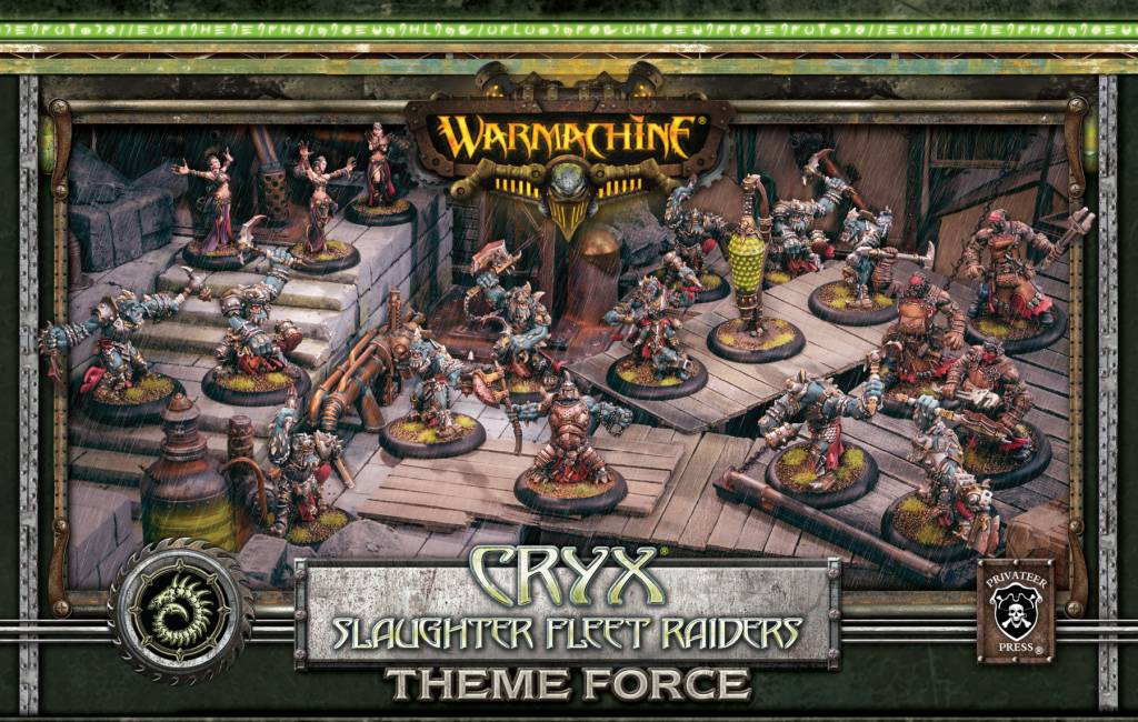 Cryx Slaughter Fleet Raiders Theme Force Box