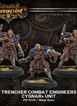 Cygnar Trencher Combat Engineers