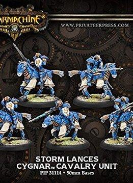 Cygnar: Storm Lances box of 3