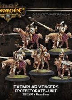 Exemplar Vengers - Protectorate Cavalry Unit (5)(Resin and White Metal)