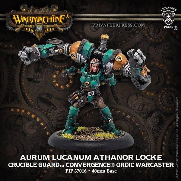 Golden Crucible - Aurum Lucanum Athanor Locke