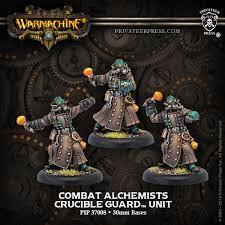 Golden Crucible - Combat Alchemist Unit