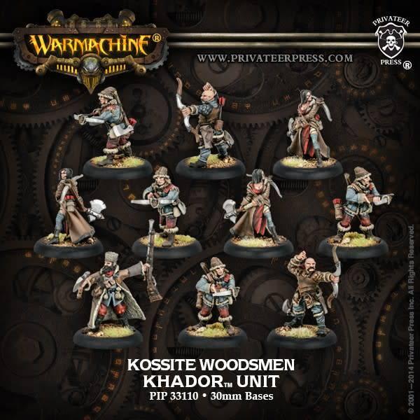 Khador Kossite Woodsmen