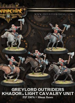 Khador: Greylord Outriders