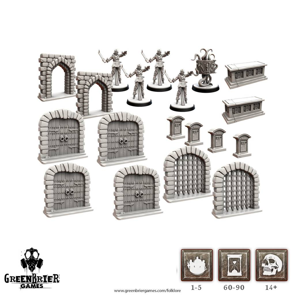Folklore Terrain (Miniatures Pack) 2E