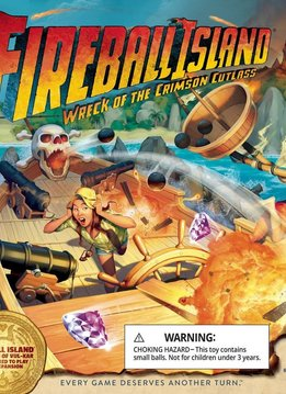 Fireball Island - Wreck of the Crimson Cutlass Expansion