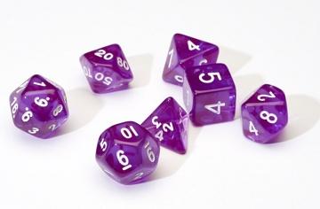 SD Translucent Purple Resin 7-Die Set
