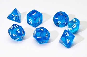 SD Translucent Blue Resin 7-Die Set