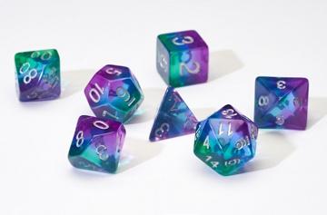 SD Translucent Blue Aurora Resin 7-Die Set