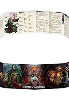 D&D Dungeon of the Mad Mage DM Screen