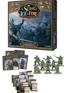 A song of Ice and Fire Free Folk Starter Set