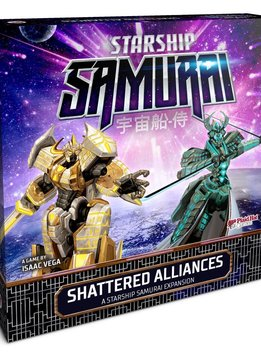 Starship Samurai Shattered Alliances Expansion