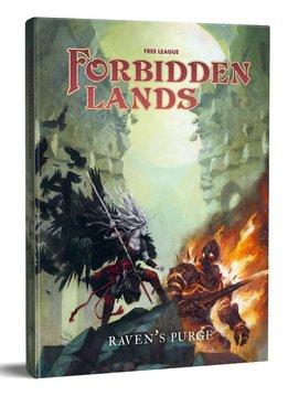 Forbidden Lands RPG Raven's Purge HC