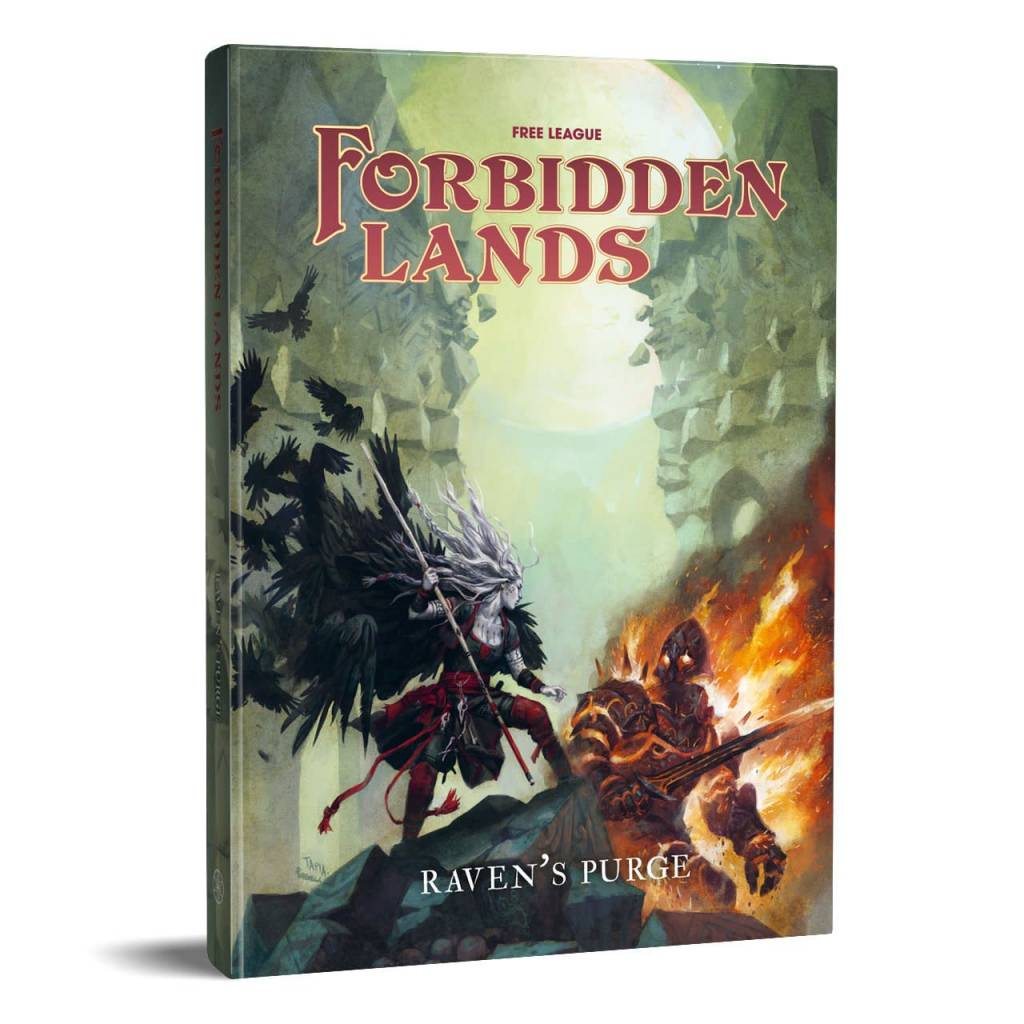 Forbidden Lands RPG Raven's Purge (HC)