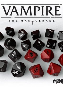 Vampire: The Masquerade 5th Ed. Dice set