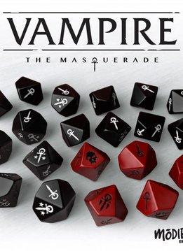 Vampire: The Masquerade 5th Ed. Dice set (Universal)