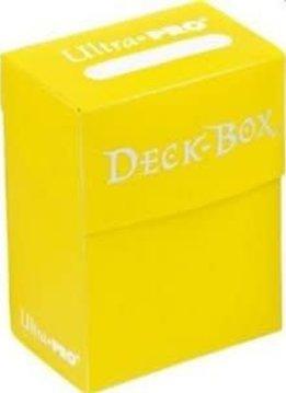 Ultra Pro Bundle - Yellow Deck Box