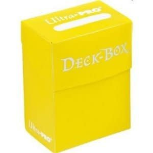 Ultra Pro Bundle - Yellow Deck Box