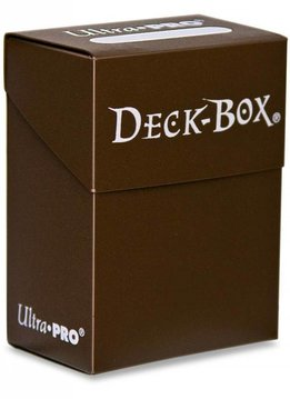 Ultra Pro Bundle - Brown Deck Box