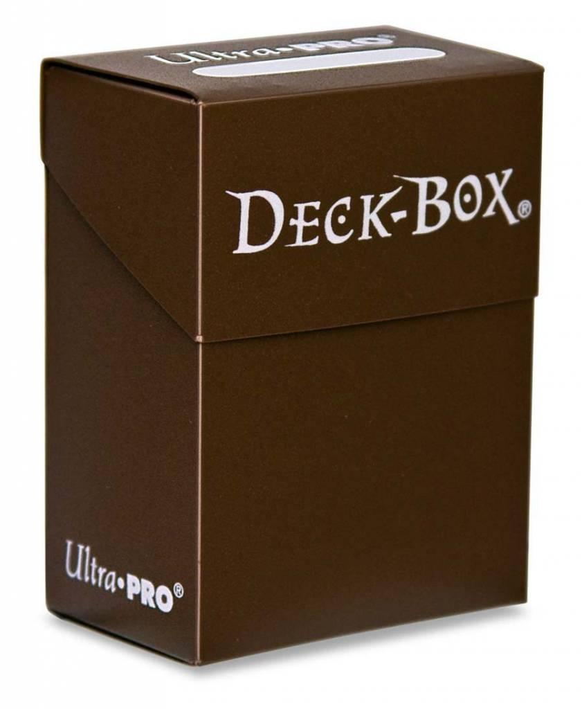 Ultra Pro Bundle - Brown Deck Box