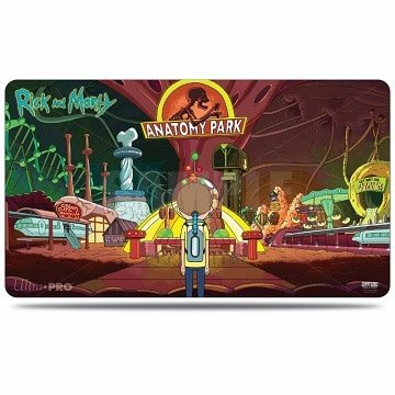 Rick and Morty Playmat (Anatomy Park)