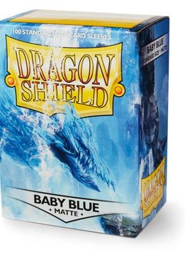 Dragon Shield Sleeves Matte Baby Blue 100ct