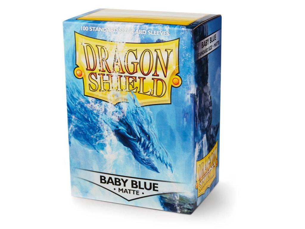 Dragon Shield Sleeves Matte Baby Blue 100ct