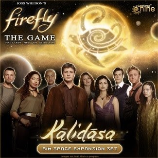 Firefly the Game - Kalidasa Rim Space Expansion