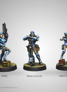 Infinity: PanOceania Fusiliers