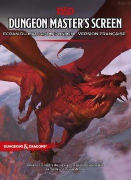 D&D Dungeon Master's Screen FR