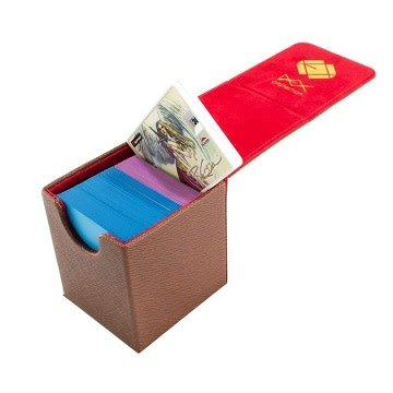 Dex Creation Series Deck Box - Small Brown