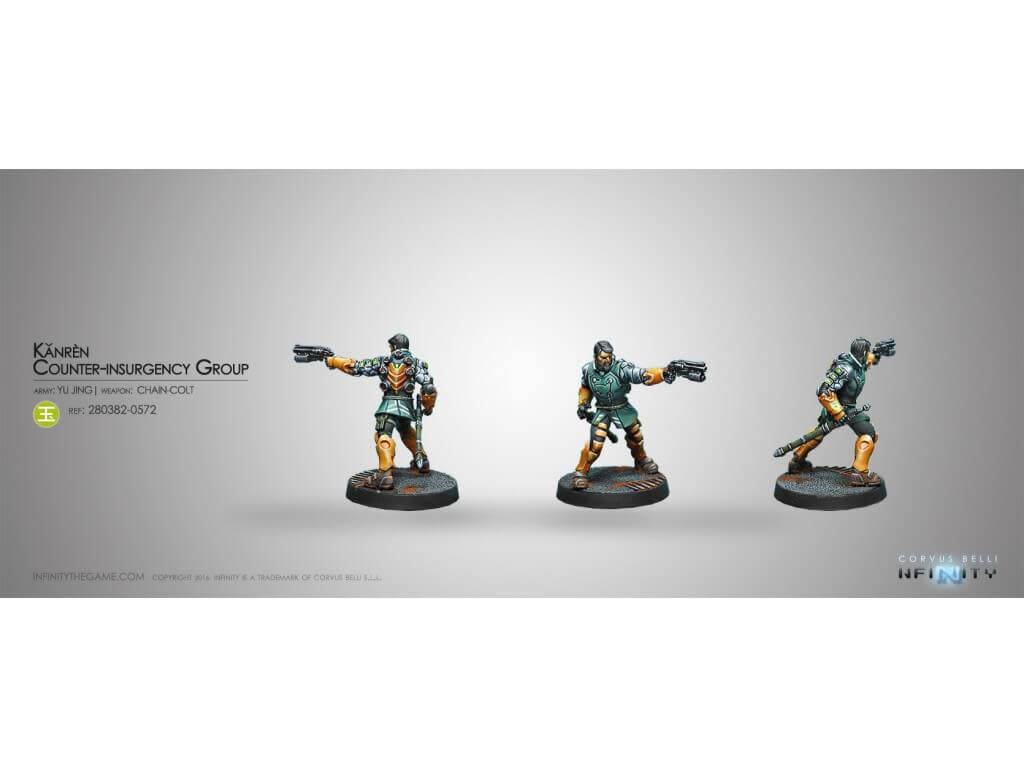 Infinity: Yu Jing Kanren Counter Insurgency Group