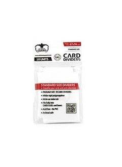 Card Divider White (10)