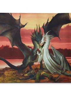 Dragon Shield Playmat - Valentines Dragons
