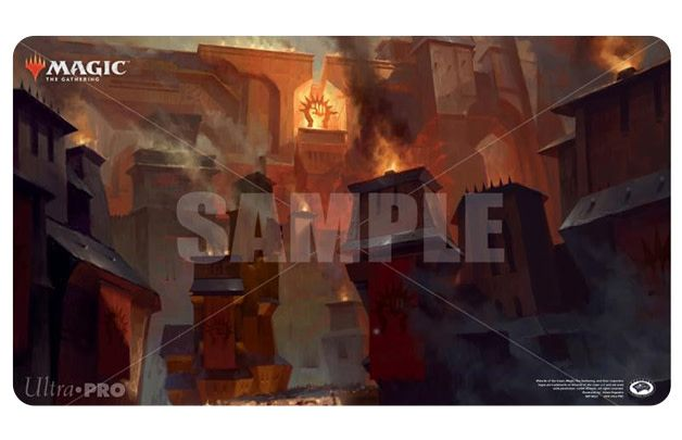 Guilds of Ravnica Playmat - Sacred Foundry
