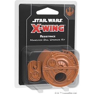 X-Wing 2E: Resistance Maneuver Dial