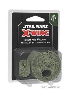 X-Wing 2E: Scum Maneuver Dial Upgrade Kit