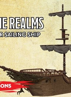 D&D Icons - The Falling Star Sailing Ship