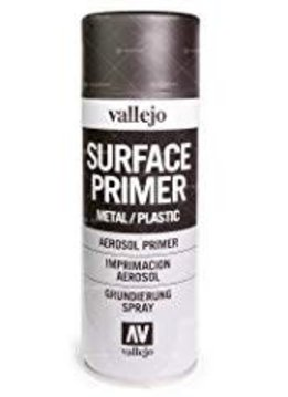 Vallejo Aerosol Black Primer 400ml