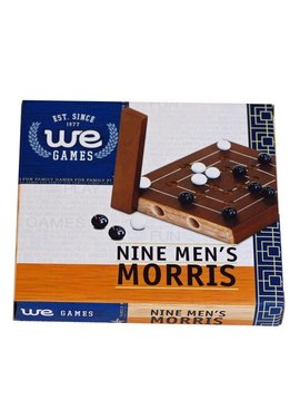 """Wooden Nine Men's Morris 5"""""""
