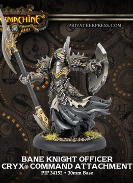 Cryx: Bane Knight Officer Command Attachment