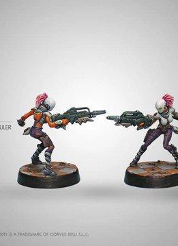 Infinity: Nomads Zeros (Combi Rifle/Hacker)