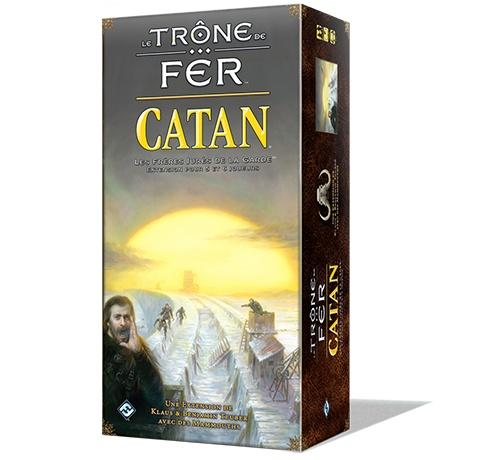 Catan Trone de fer 5-6 joueurs exp