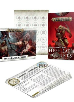 Warscroll Cards: Flesh-Eater Courts FR (Web Excl)